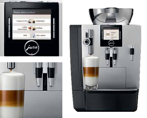 jura impressa xj9 coffee machine absolute catering equipment. Black Bedroom Furniture Sets. Home Design Ideas