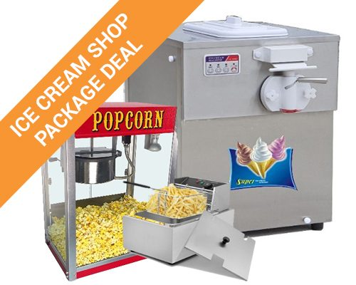 Ice Cream Shop Equipment Package Deal