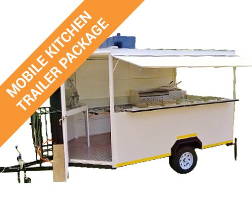Mobile Kitchen Catering Trailer Package