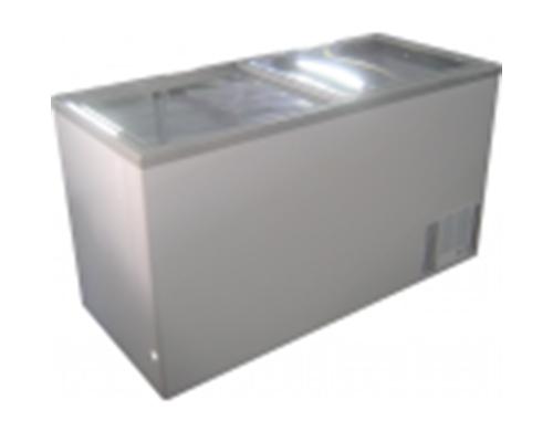 Ice Cream Display Freezer Glass Top