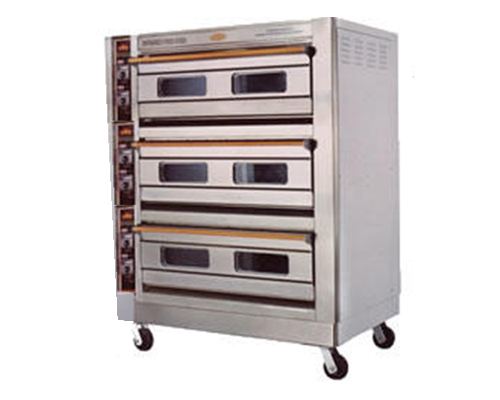Triple Deck Oven