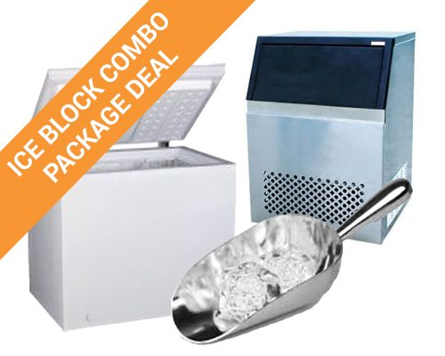Ice Block Making Combo Equipment Package Deal