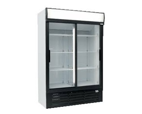 Double Sliding Door Fridge