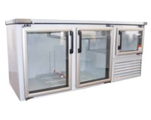 Underbar Fridge with Glass Doors