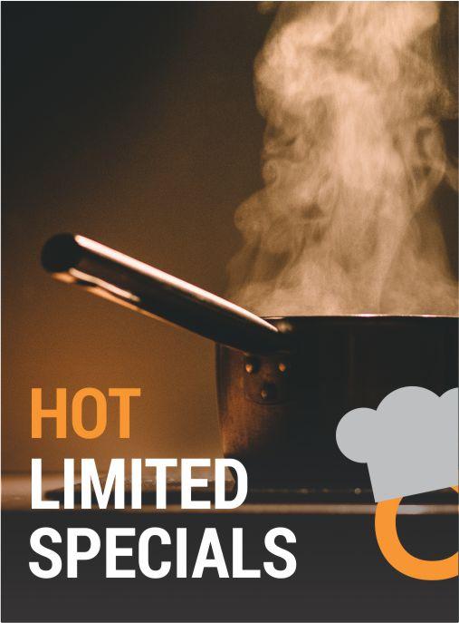 Hot Specials!