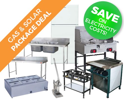 Gas & Solar Catering Equipment