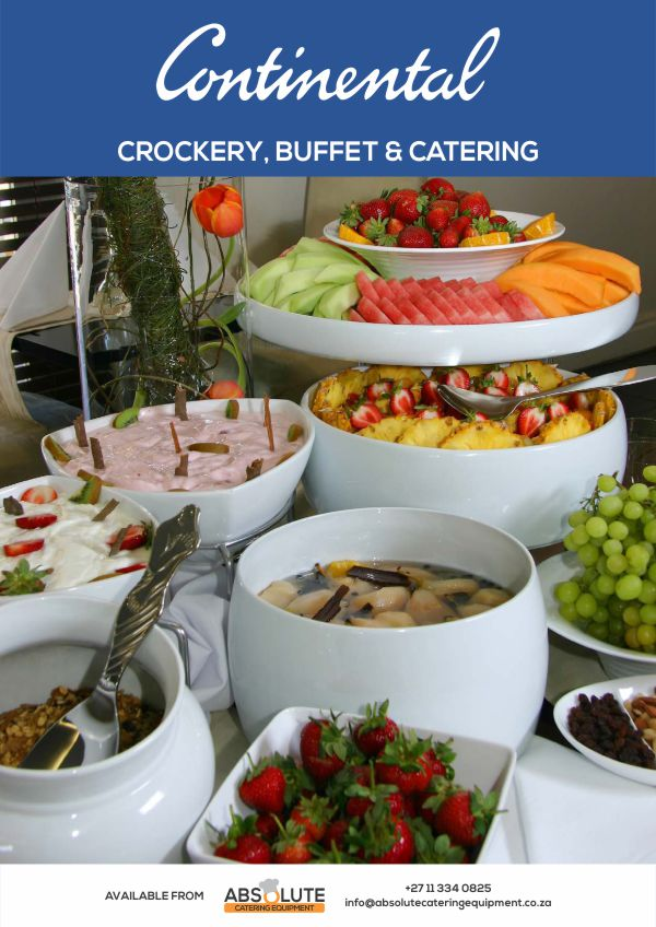 Absolute Catering Equipment Catalogue: Crockery, Buffet & Catering