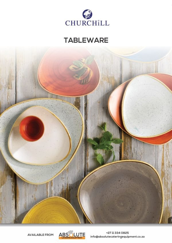 Absolute Catering Equipment Catalogue: Tableware