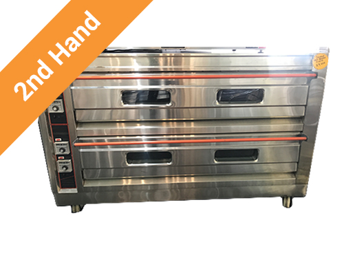 2nd Hand Double Deck Bread Oven