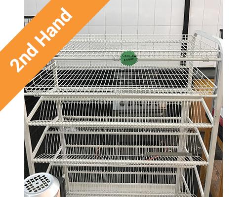 2nd hand crock rack