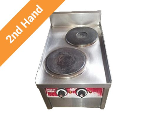 second hand 2 Plate Stove Table Model 380V