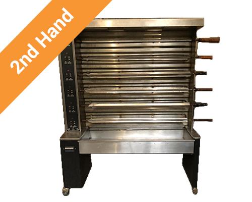 Second hand 48 Chicken Rotisserie 220V