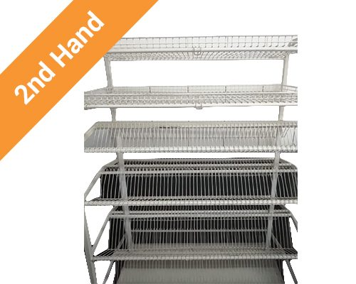 Second hand Crockery Rack Floor Model
