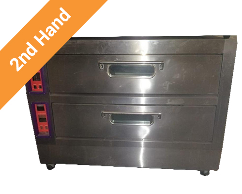 Second hand Double Deck Oven 380V