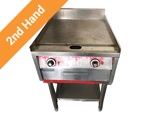 Second hand Flat Top Griller 380V 550mm