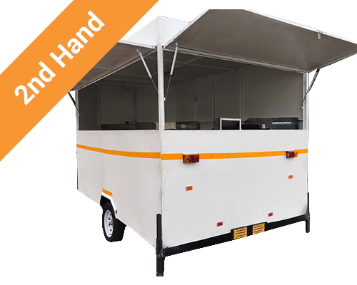Second hand mobile kitchen trailer