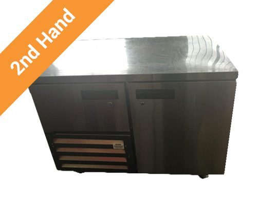 second hand Underbar Fridge One and Half Door