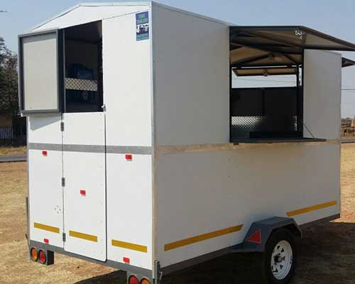 Mobile Kitchen Catering Trailer for sale