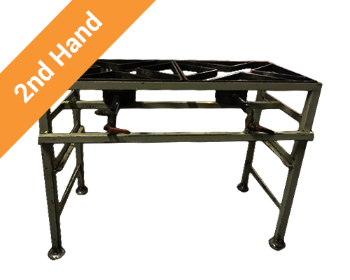 Second hand 2 burner boiling table