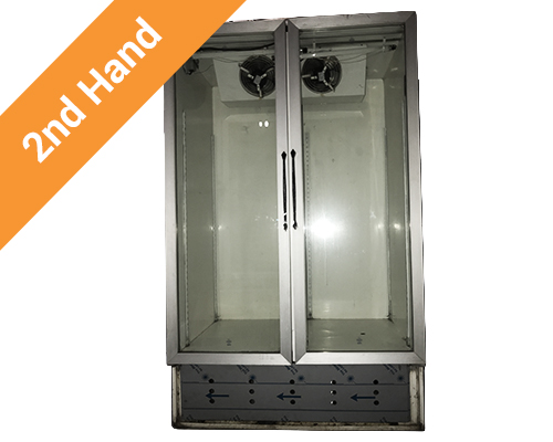 Second hand 2 door cooldrink fridge