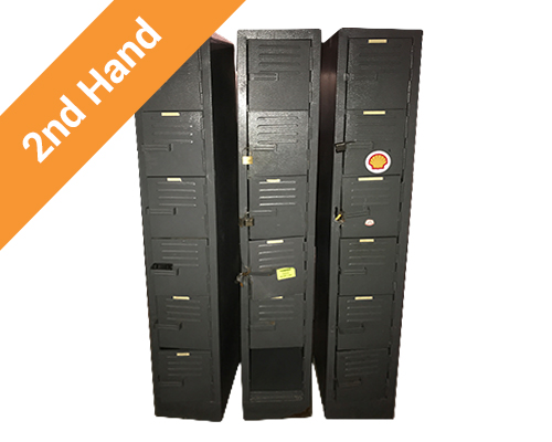 Second hand lockers