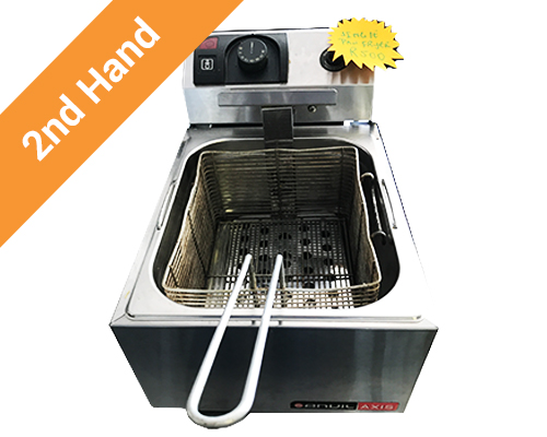 Second hand single pan electric fryer