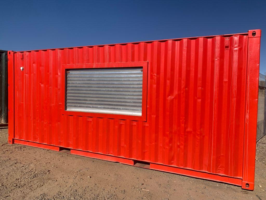 Orange 6m Container